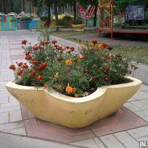 "Вазон бетонный ""Звездочка"""