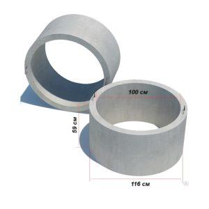 Кольцо стеновое КС 10.6 (КЦ 10.6)