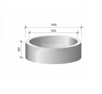 Кольцо стеновое КС 15.3 (КЦ 15.3)