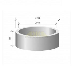 Кольцо стеновое КС 20.6(КЦ 20.6)