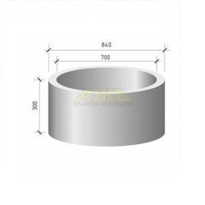 Кольцо стеновое КС 7.3 (КЦ 7.3)