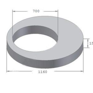 Плита перекрытия ПП10-2 (КЦП1-10-2)
