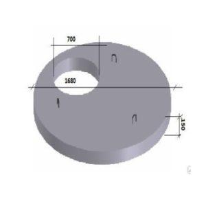 Плита перекрытия 1ПП15-1 (КЦП1-15-1)