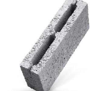 Керамзитобетонный блок (стеновой) 390*190*190